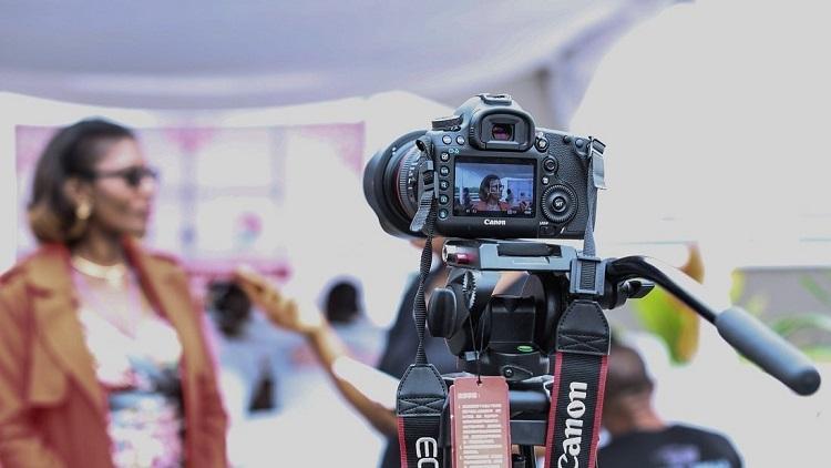 Filmproduktion Dreh