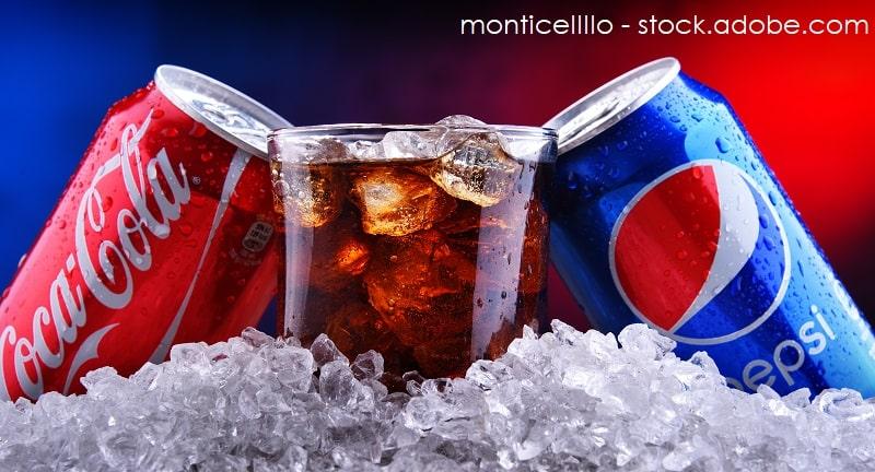 Cola gegen Pepsi